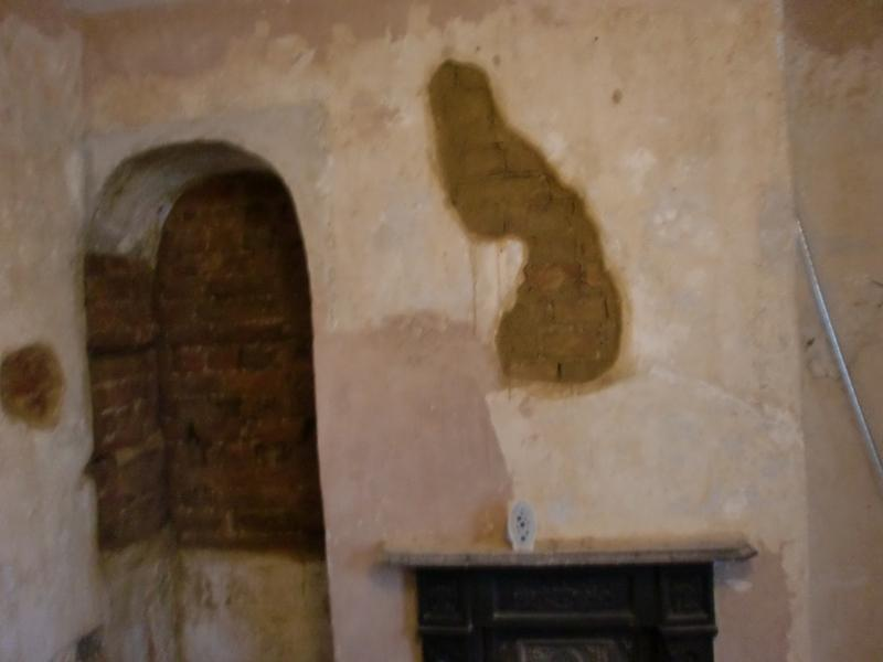 Image 27 - Dining room before plastering commences
