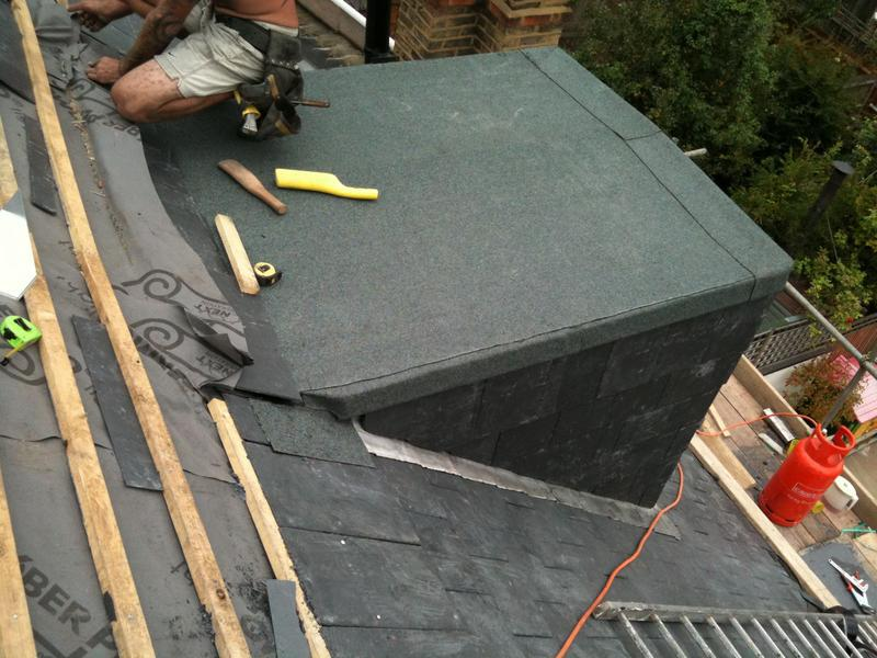 Image 13 - finished flat roof on dormer
