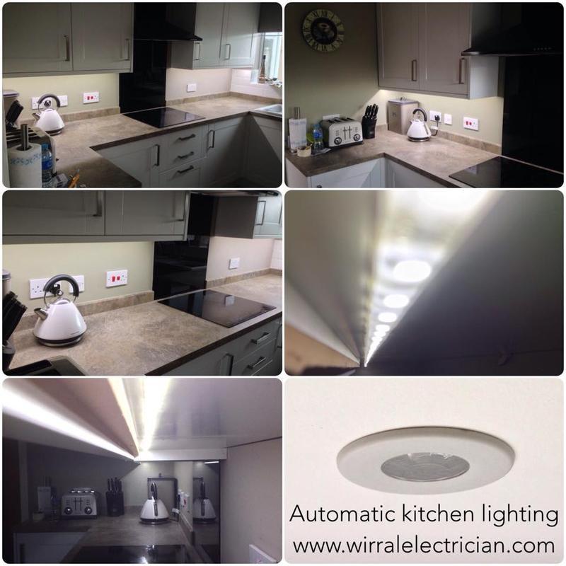 Image 13 - Automatic worktop lighting.