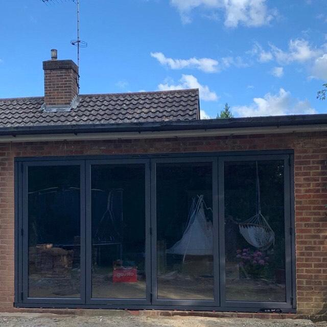 Image 12 - New bifold door installation.