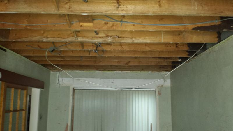 Image 16 - Asbestos Textured Coating (Artex) Removal - AFTER