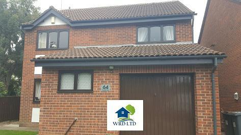 Image 6 - Another Installation of Replacement upvc Anthracite Grey Ral 7016 Fascia's With Black Square Gutters & pipes.