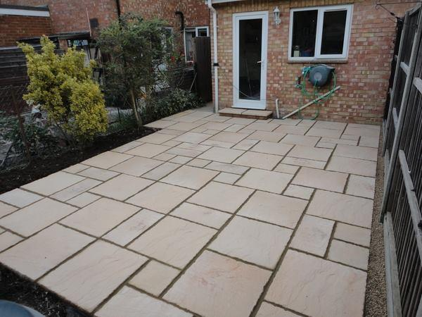 Image 21 - To excavateall area and then lay concrete base and indian stone to all area and point up to seal in welling kent