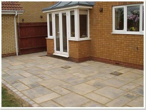 Image 29 - A indian sandstone patio in hernebay kent