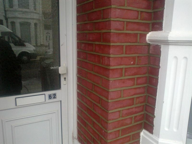 Image 20 - To grind out all area and repoint with weather struck pointing to seal in deal kent