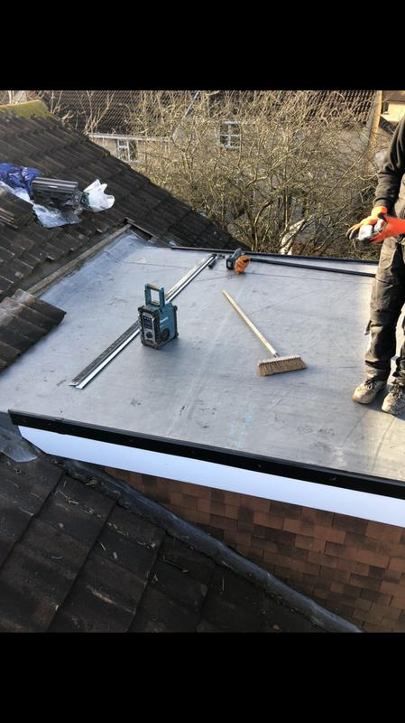 Image 33 - New EPDM roof in Warmley