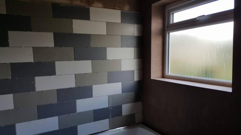 Image 66 - full bathroom ripout and refit inc all platering and tiling