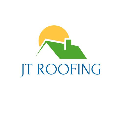 JT Roofing logo