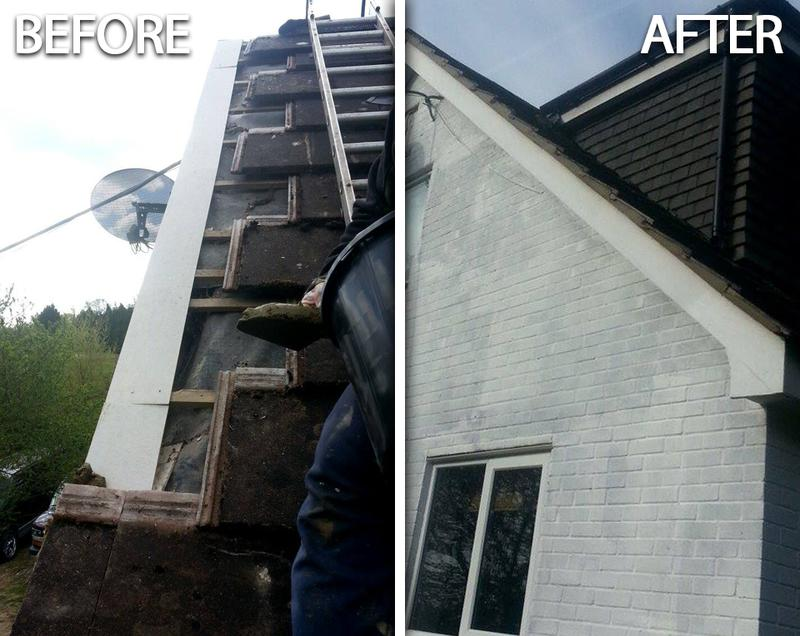Crosby S Roofing Amp External Painting Services Chimney