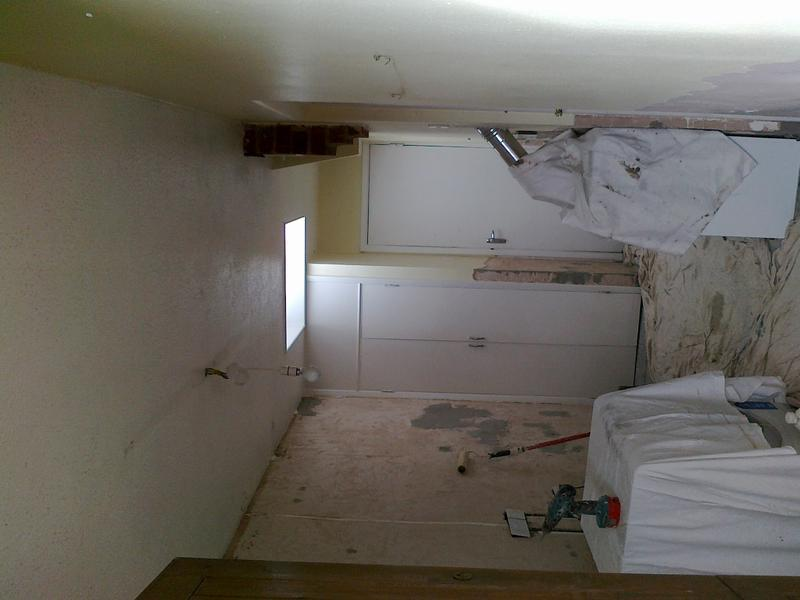Image 43 - Plastering 'Before'