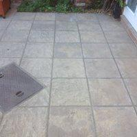 Image 28 - Repointing of a patio