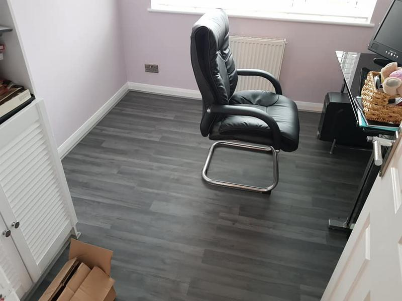 Image 76 - Laminate completed, to finish off this office.
