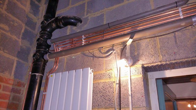 Image 9 - Installation of a Heating system in St Albans