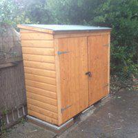 Image 27 - Nice little bike shed for client
