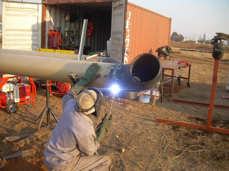 """Image 16 - 12"""" pipe welding and fabrication"""