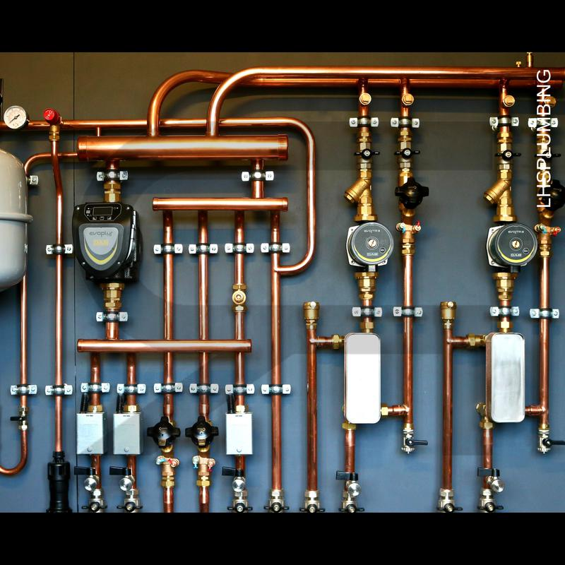 Image 8 - HYDЯAH™. Full setup for 3 zoned heating system with plate separation.