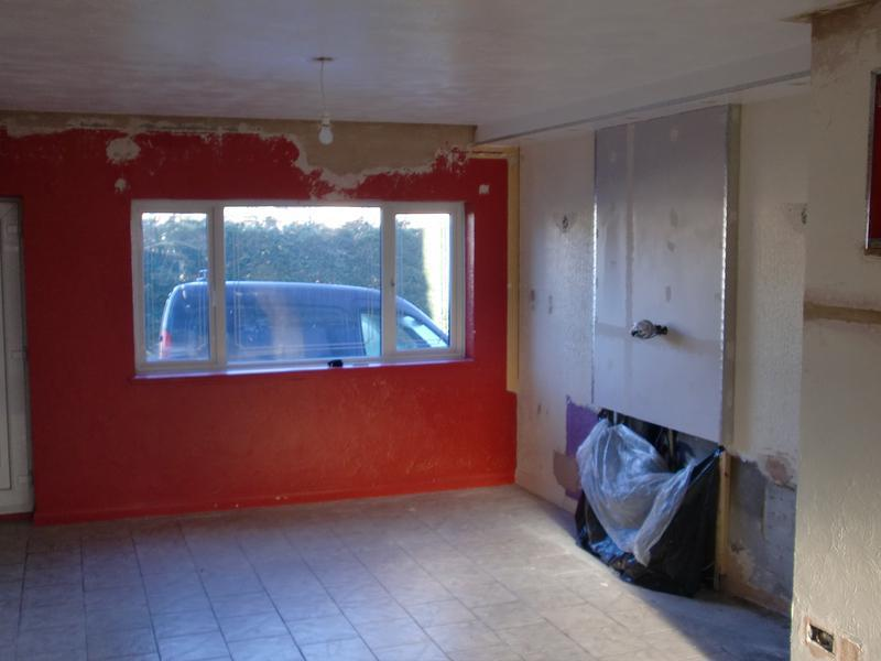 Image 19 - Lounge with artex on ceiling and walls