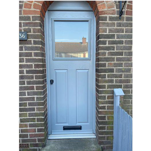 Image 1 - Composite door installed 1 Dec 2020