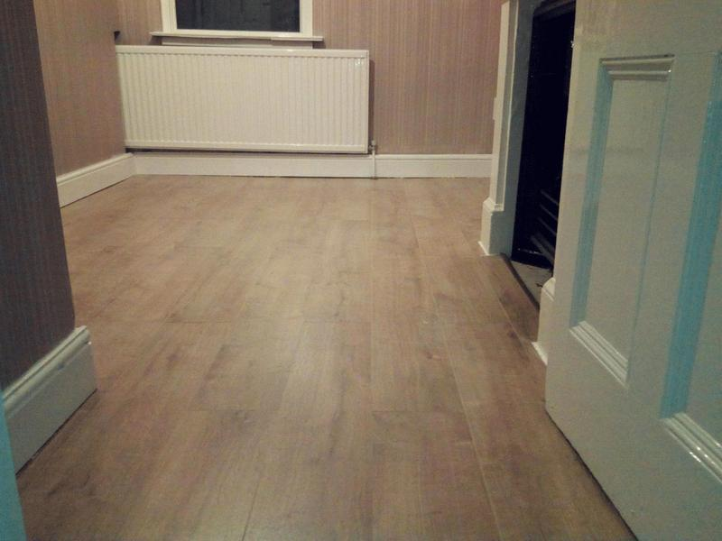 Image 39 - Laminating complete in bedroom