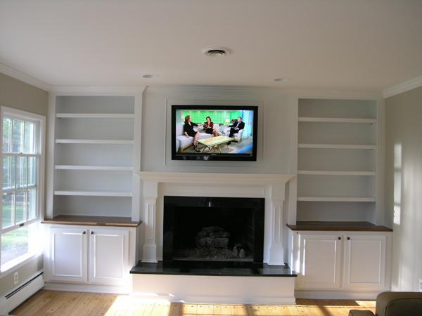 Image 8 - Wall mount TV. cabling previously hidden prior to building work