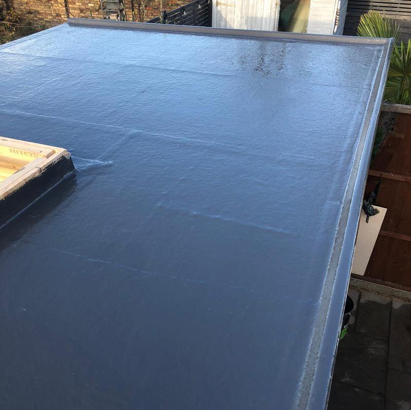 Image 5 - Fibreglass flat roof in Worcester park