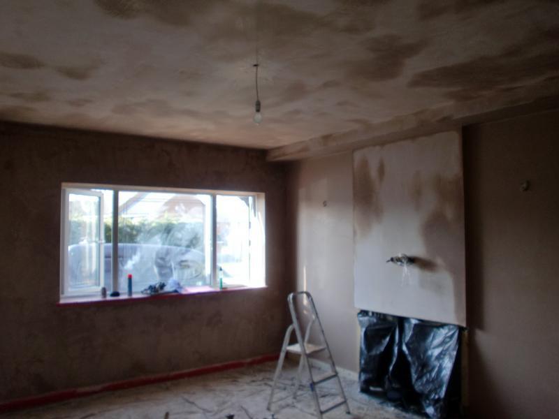 Image 22 - Lounge finished plastered