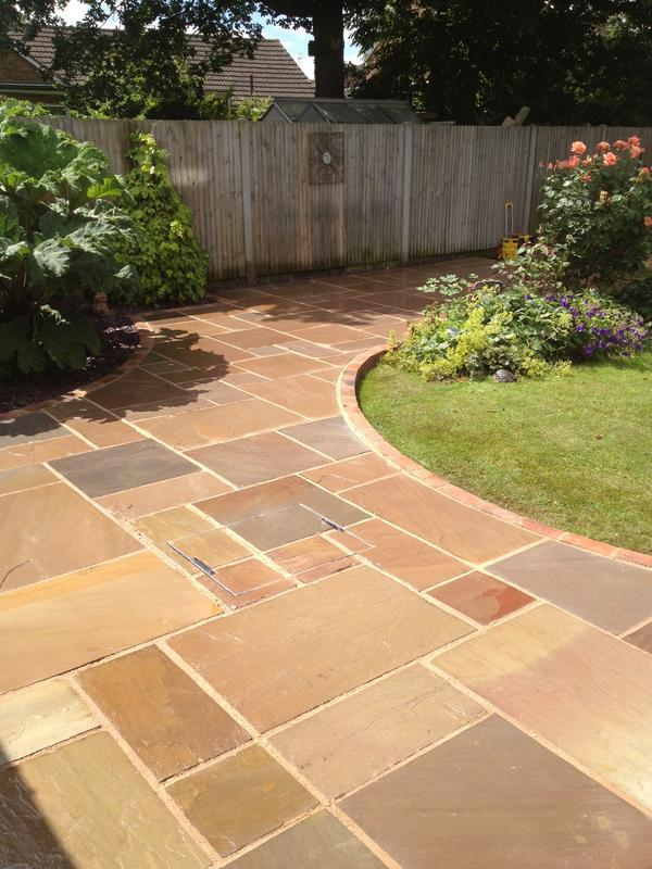 Image 6 - Indian Sandstone Patio.