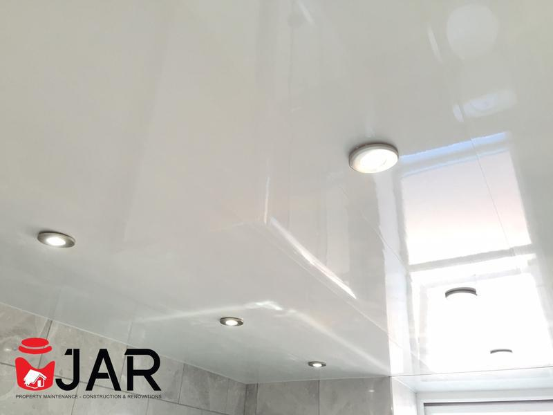 Image 14 - Plastic Clad Ceiling with IP65 LED lighting