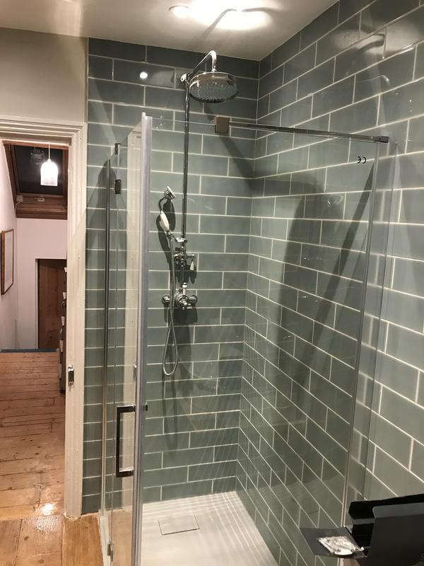 Image 7 - RELM Interiors cordonedoff a part of a bedroom and converted it into a shower room. Flooring, under floor heating, plumbing,tiling and all bathroom accessories were installed.