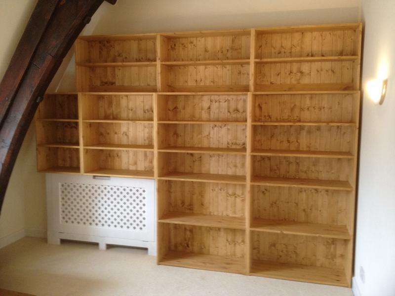 Image 45 - custom built bookcase