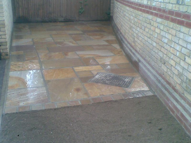 Image 19 - wet look , which can be permently achieved with a patio sealing resin