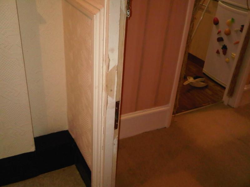 Image 23 - Burglary Damage,Repair To Frame & Hanging Of New Door