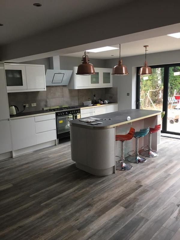 Image 26 - Rear extension, new kitchen, bathroom, Watford