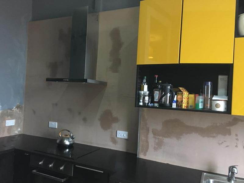 Image 4 - Plasterwork to around a new kitchen install.