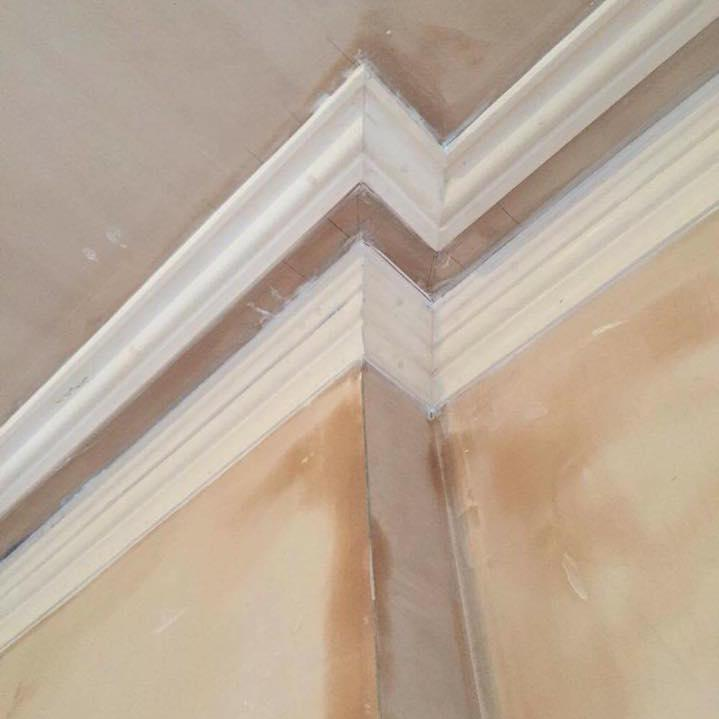Image 18 - A photo that shows our attention to detail. A cornice designed by our team in the work shop and ran and fitted on site. Beautifully fitted and pointed.