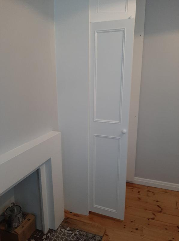 Image 29 - Bespoke floor to ceiling wardrobe wit hanging space and shelving inside