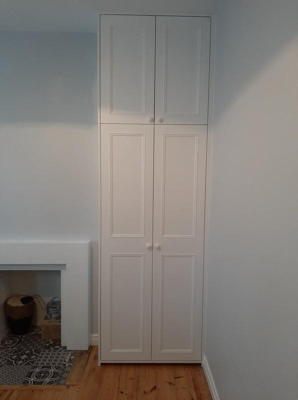 Image 30 - Bespoke floor to ceiling wardrobe wit hanging space and shelving inside