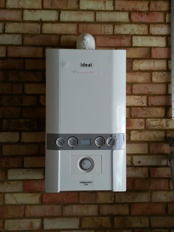Image 17 - New boiler install
