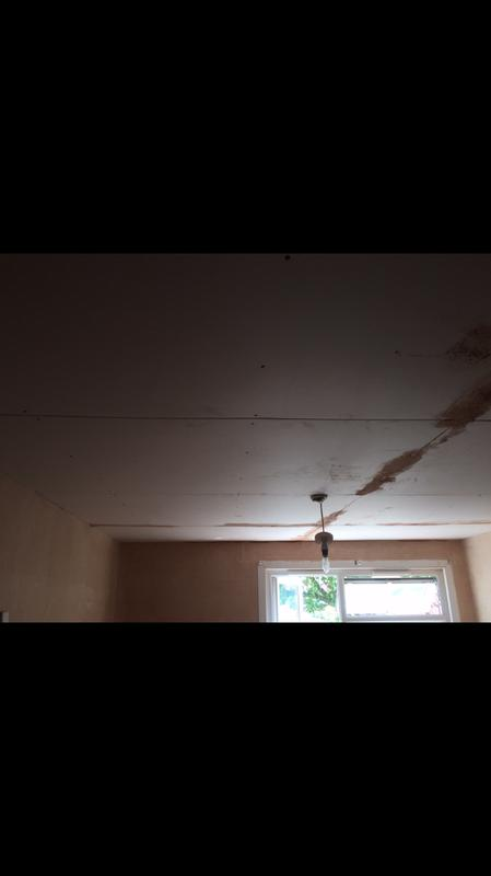 Image 36 - Customer decided to have ceiling boarded and skimmed after I did walls.
