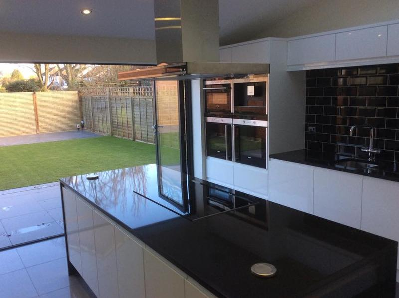 Image 9 -  Extension with bespoke kitchen