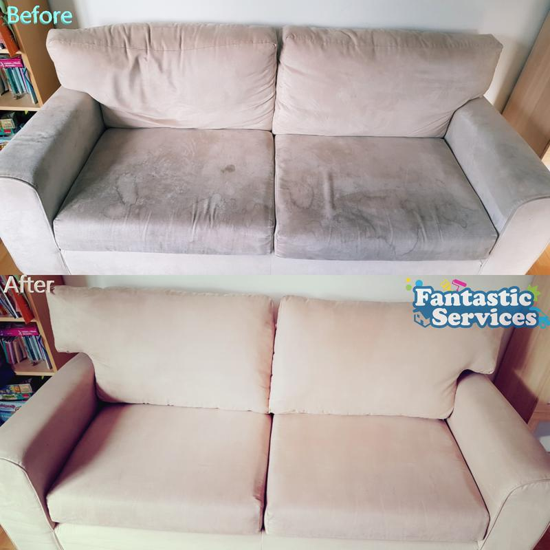 Image 2 - Sofa cleaning before/after