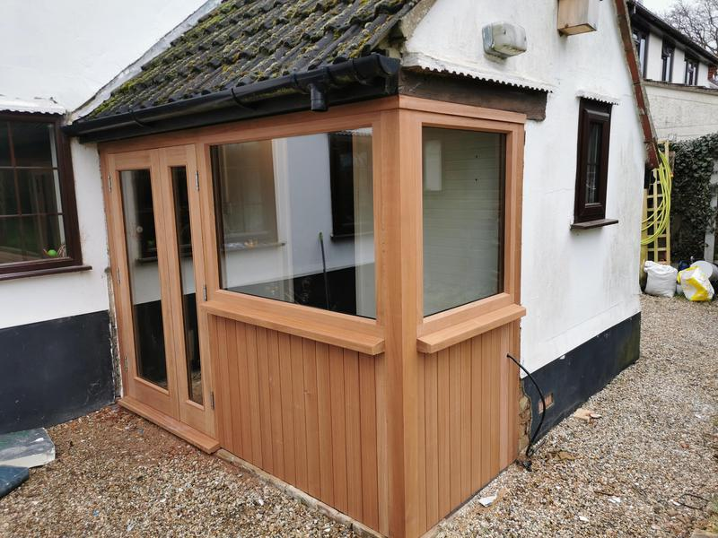 Image 3 - New boot room at rear of property in Kelvedon