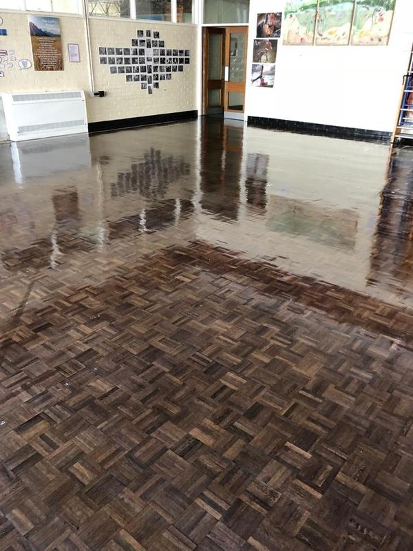 Image 183 - School Floor Deep Clean