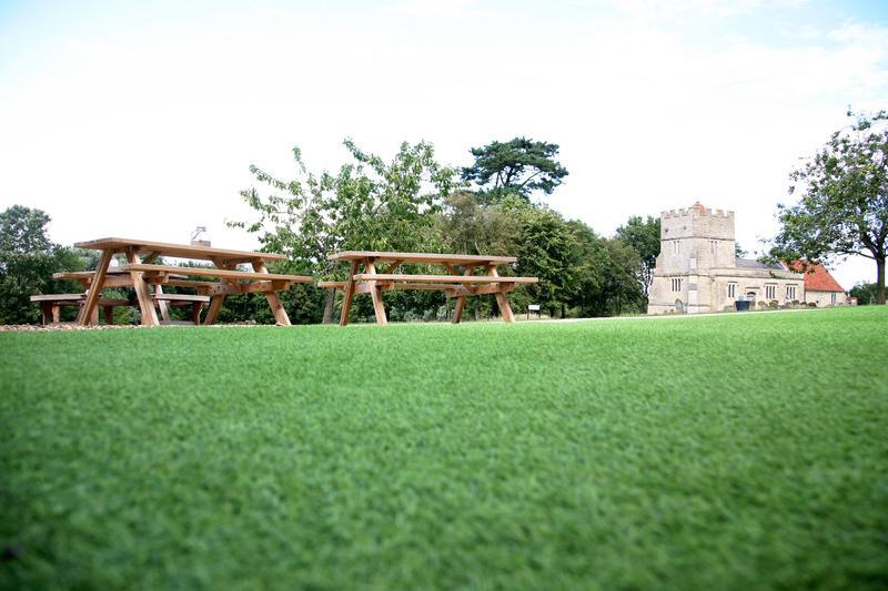 Image 4 - Artificial Grass at Church