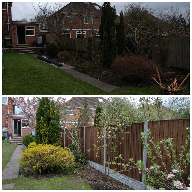 Image 6 - Before and after job completed