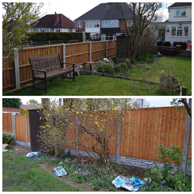 Image 7 - Before and after job completed