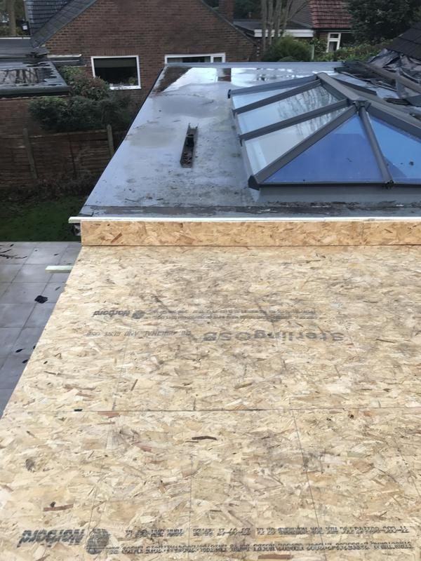Image 25 - Flat roof ready for rubber roofing