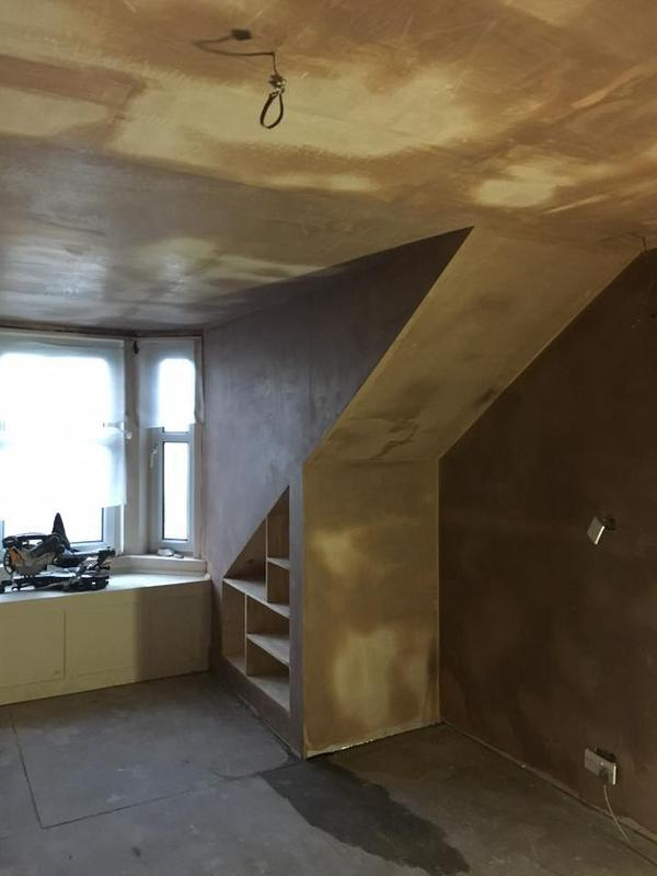 Image 3 - Some Plasterwork we carried out in a property in Carluke.