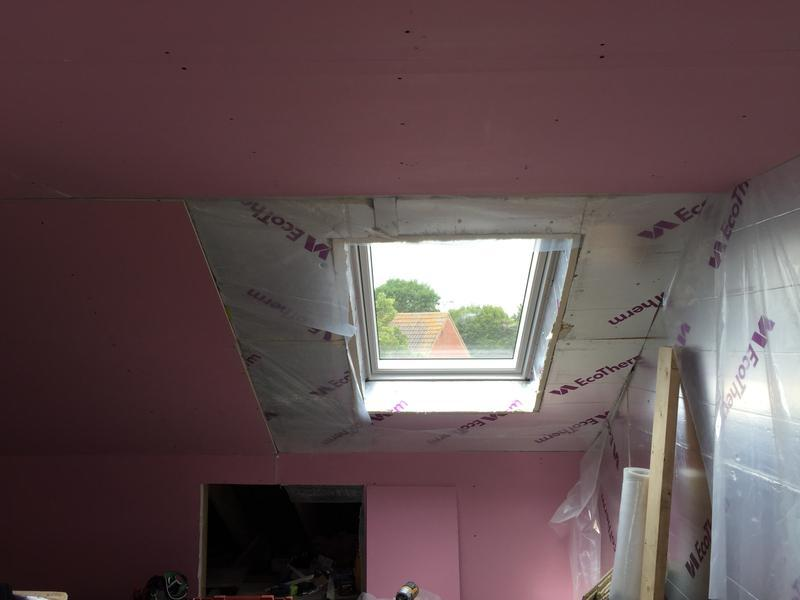 Image 46 - Velux window fitted to allow more light into loft conversion