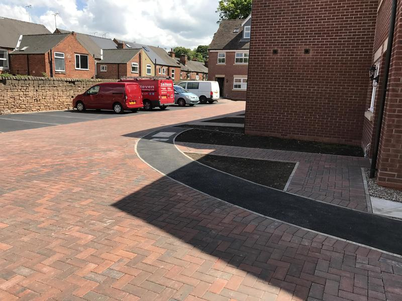 Image 11 - Block paving and tarmac footpath just to set the shared drive off nicely
